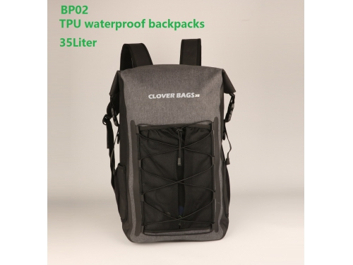 191e967694 BP02 35L Waterproof Dry Bag Roll-Top Backpack for Travel