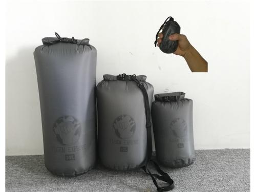 771004d399 30D Cordura Waterproof Dry Bag Super Lightweight Dry Sack 3L 6L 12L Roll  Top Compression Sack